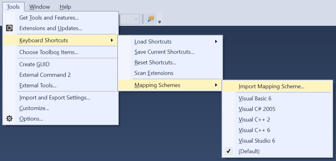Keyboard Shortcuts Manager - Visual Studio Marketplace